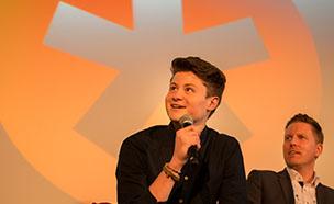 Coca-Cola und YouTube-Star DNER auf der Content-Marketing Conference 2015