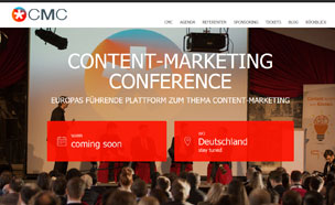 Relaunch content-marketing-conference.com