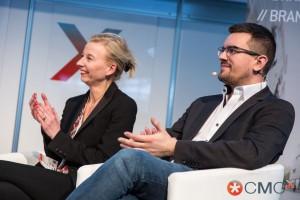 Panel Digital Marketing 2020: Dagmara Greve - Zenithmedia und Felix Schmidt - L'Oréal
