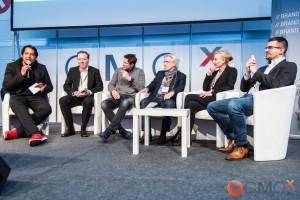 Panel Digital Marketing 2020: Cherno Jobatey, Ulf Heyden, Jörg Binnenbrücker, Gerrit Klein, Dagmara Greve und Felix Schmidt v.l