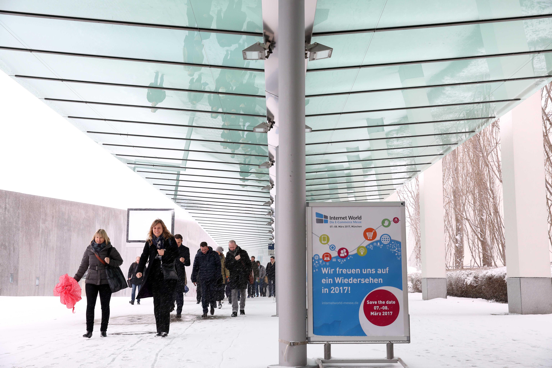 Neue Medien Ulm, Internet World 2016, Messe Riem, 01. und 02.03.16, Tag 1 Foto: Marion Vogel