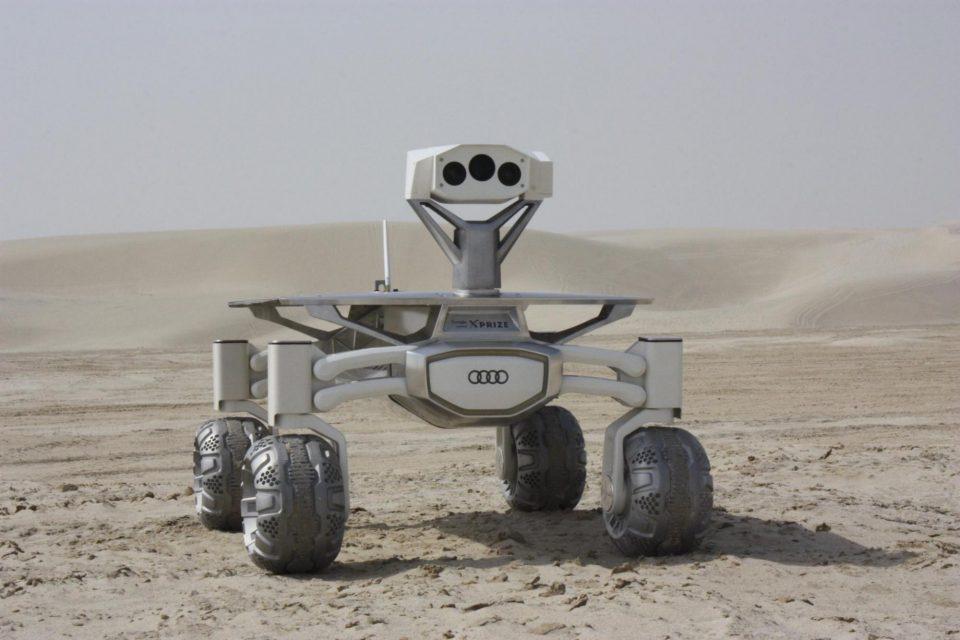 ? ➡ ? Audi auf dem Mond – wird das der beste Content-Marketing Case des Universums?