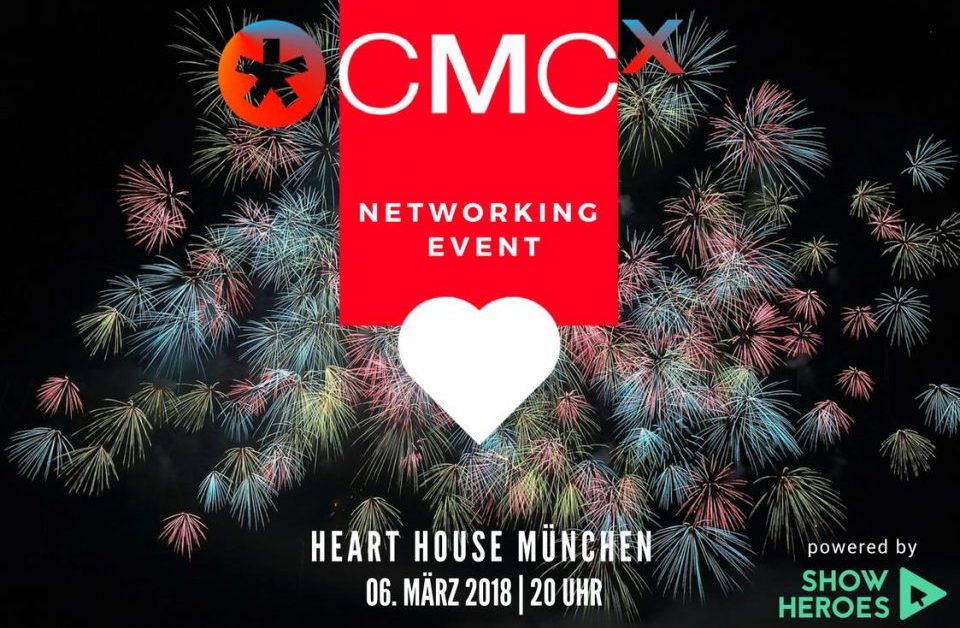 ? CMCX-NIGHT powered by ShowHeroes – so verpasst Ihr auf keinen Fall das größte Networking-Event der Content-Marketing Branche