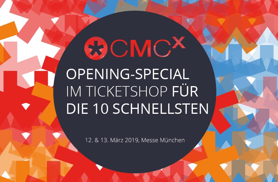 ? CMCX 2019: Startschuss mit Opening-Special, Earlybirds und ersten Geheiminformationen für den März 2019