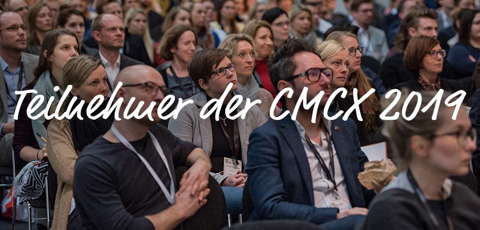 🤝Diese Unternehmen trefft Ihr auf der CMCX 2019