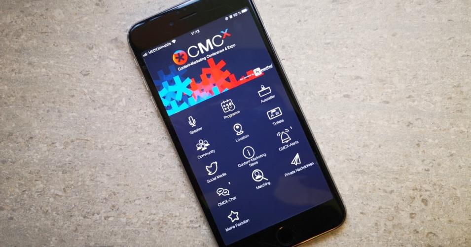 📱 Mit dieser App behaltet Ihr den Überblick auf der CMCX