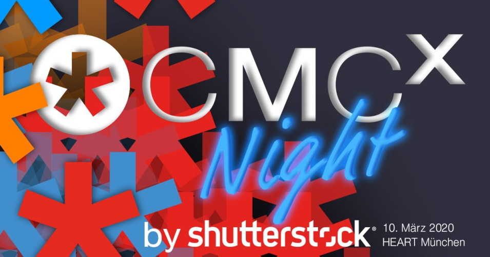 🥂 CMCX-NIGHT 2020 powered by Shutterstock: Die Party zum 10. Jubiläum