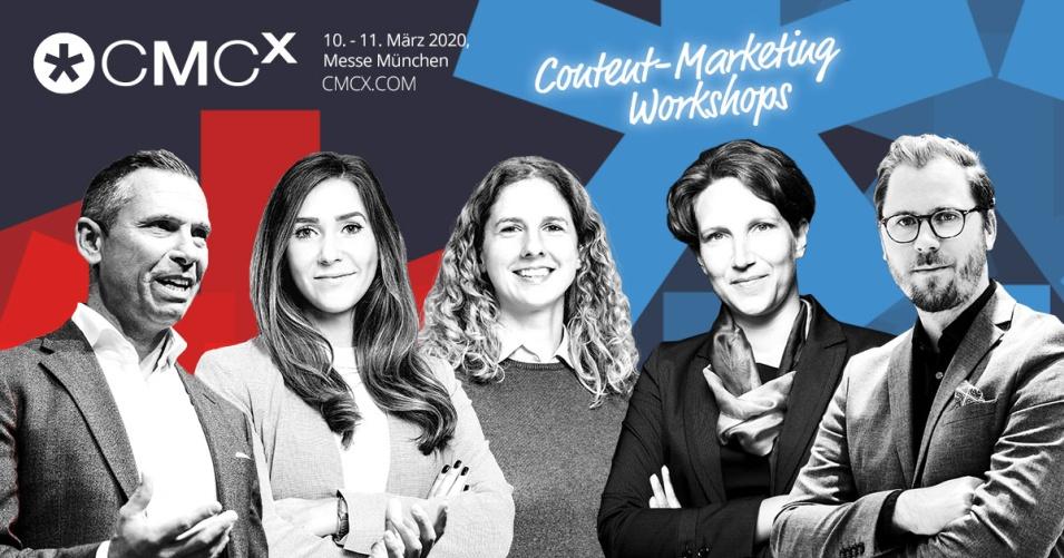 Wie Euch die Content-Marketing Workshops der CMCX in Eurer tagtäglichen Arbeit weiterbringen